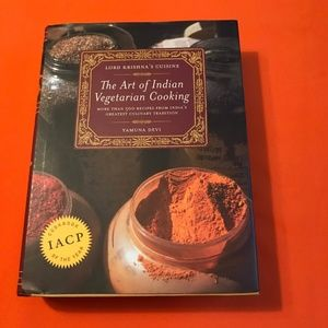 The Art of Indian Vegetarian Cooking Cook Book